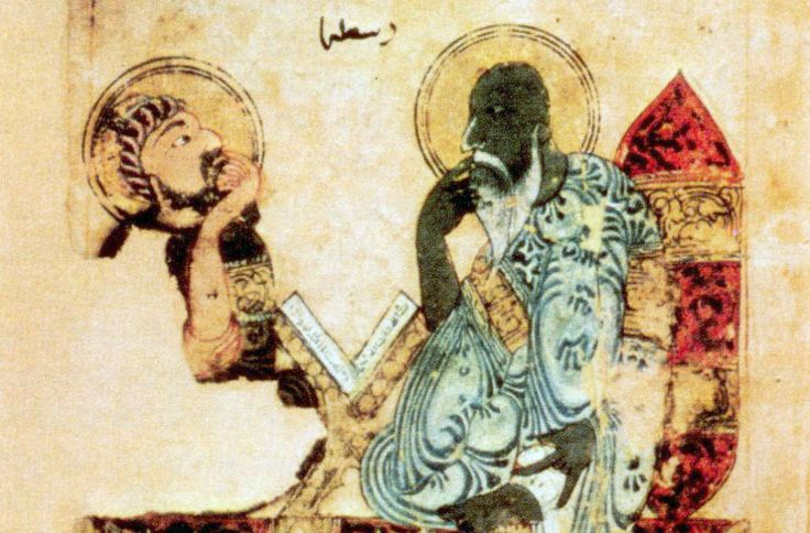 Ancient Greek philosophers such as Plato and Aristotle were highly respected in the medieval Islamic world. Credit: Wikimedia Commons