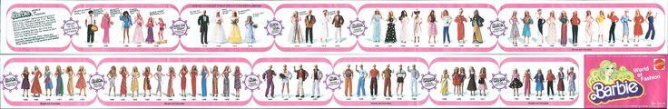 https://flic.kr/p/dFC6PR | Barbie World of Fashion 1980