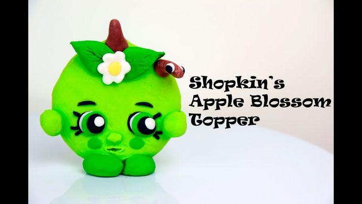 Shopkins Apple Blossom Cake