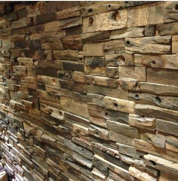 Wood Tile Kitchen Backsplash: 25+ Best Wood Wall Tiles Ideas On Pinterest
