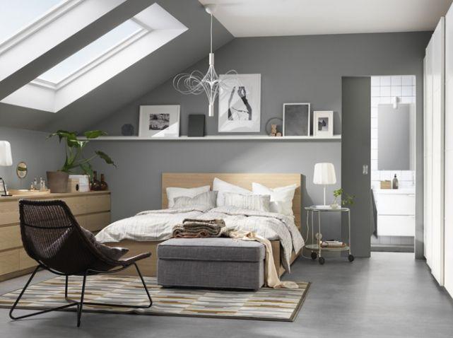 Les 25 meilleures id es concernant chambre ikea sur for Decoration chambre mansardee adulte