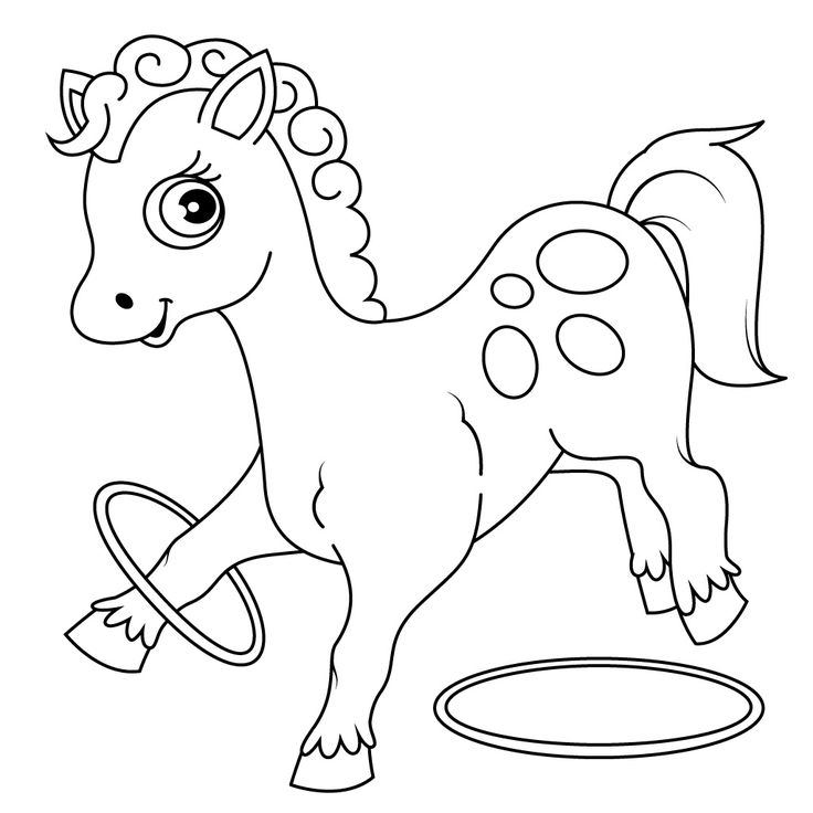 Check Out Horse Coloring Pages For Kids And Have Fun