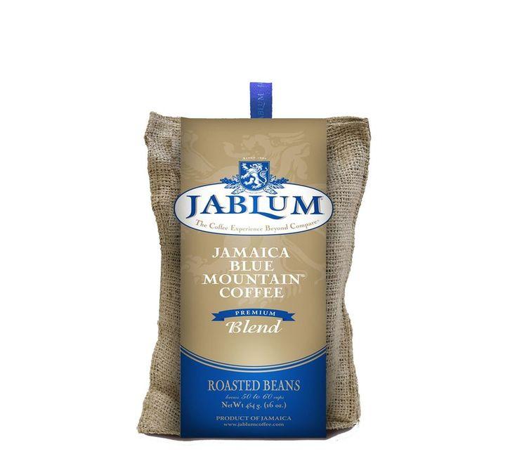 jablum 100percent jamaica blue mountain coffee premium blend roasted ground bean #Jablum