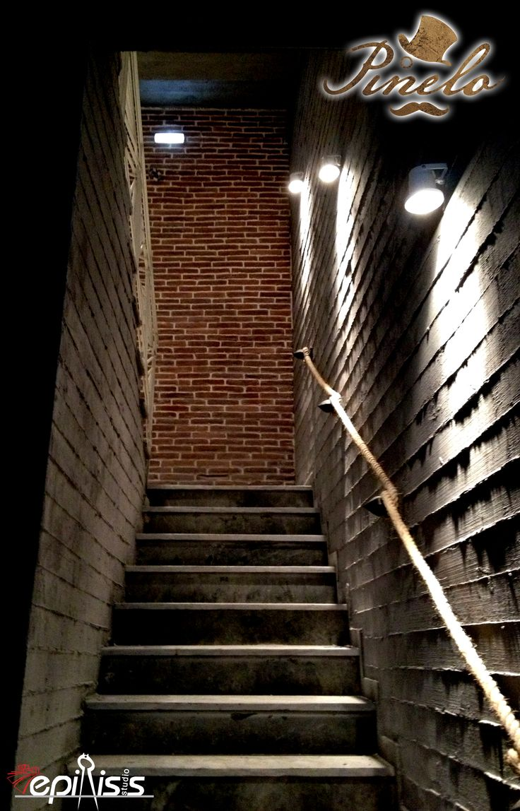 view of the entrance #interior #design #EpilisisStudio #industrial #bar #entrance