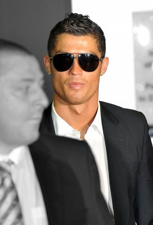 Cristiano Ronaldo <3  At least he'll have a back up job once he's done with his soccer career. lol