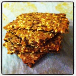 Homemade Happy Crackers - Thermomix