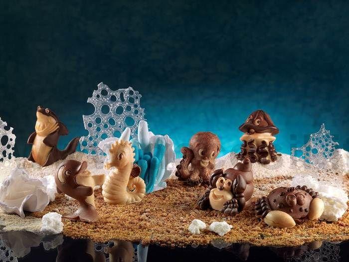 Tutti gli stampi in silicone alimentare sono acquistabili online su www.decosil.it #animali #cioccolato #chocolate #animals