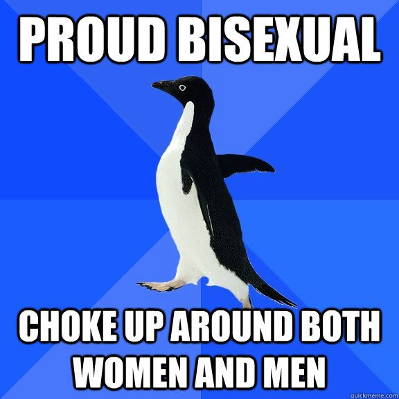 Bisexuality is a thing reserved only for the chosen few 9