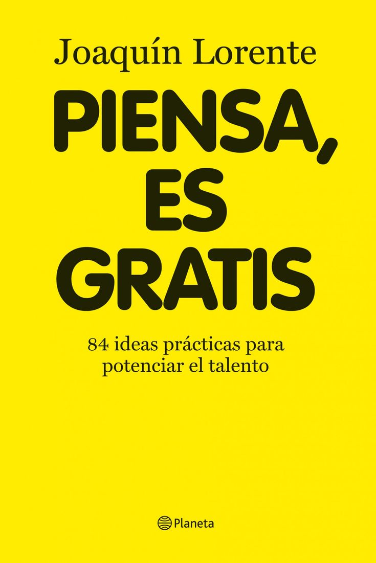 Piensa es gratis - Think, is free