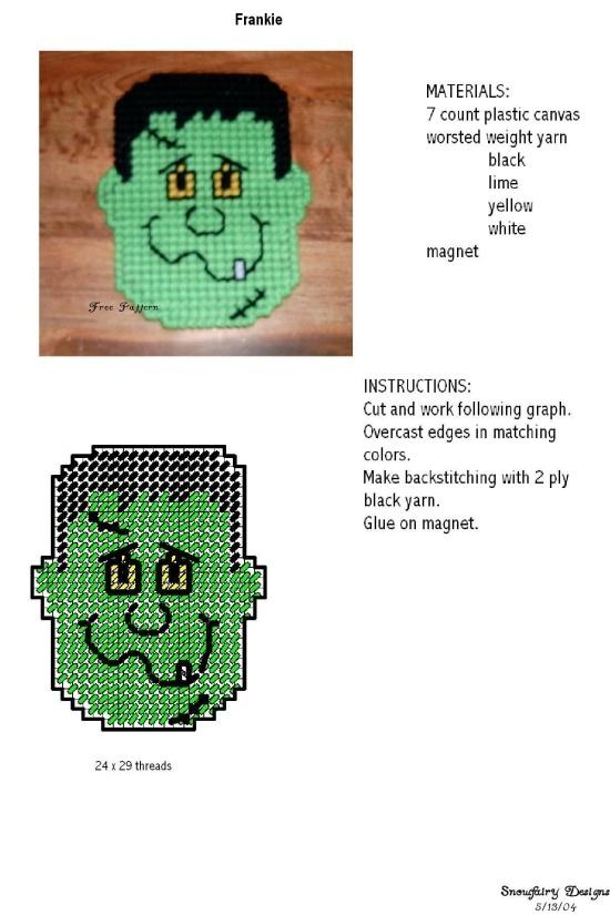 Free Plastic Canvas Magnet Patterns | Plastic Canvas