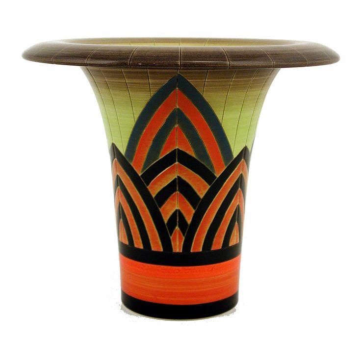 Sally Tuffin,Dennis Chinaworks,Pottery,vase,Pattern and design,Sunburst – UK Art Pottery