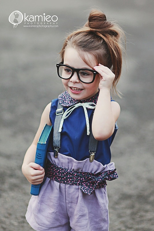 cutest little girl. ever.: Blouses, Girls Generation, Bows Tanks, Peter Pan Collars, Spring Summer, Ruffles Tops, Geek Glasses, Dots, Geek Chic