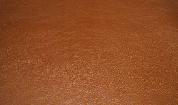 Peau de cuir véritable agneau caramel doré