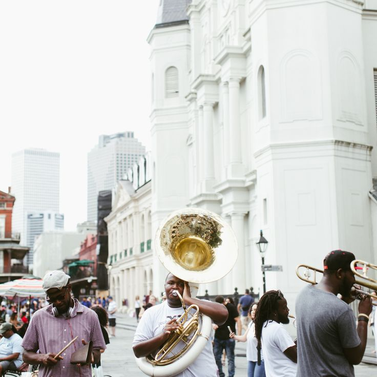 In New Orleans, we dance through Tuesday.
