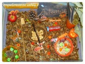 Bac sensoriel pour l'arrivée de l'automne dans Activités et Boites sensorielles mont115-300x225
