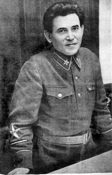 Commissar of Internal Affairs Nikolai Yezhov