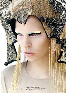 Tribal-futuristic princesses
