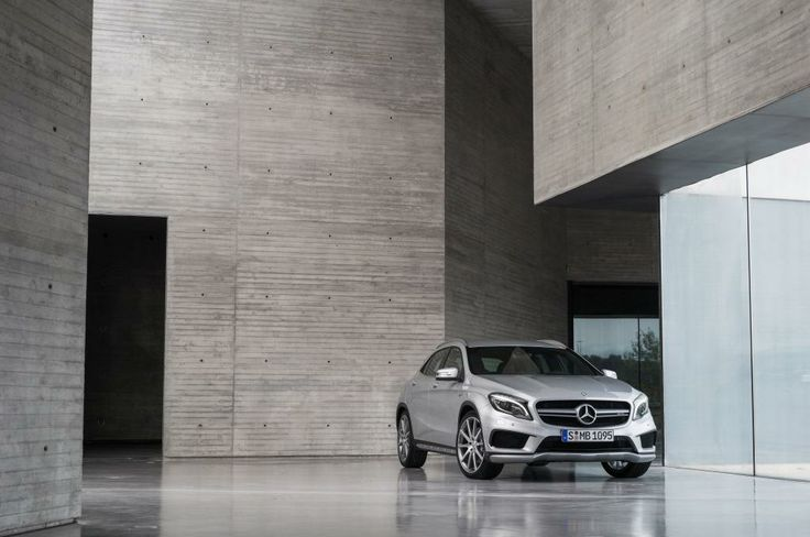 Sytner's Resident Stig Takes a Drive in the New Mercedes-Benz GLA and Helps to Decipher Some Confusing Model Names...