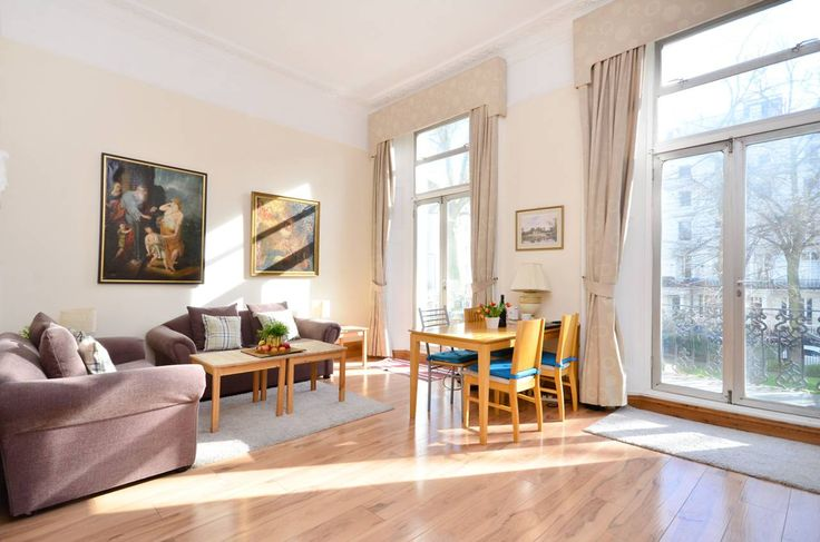 Notting Hill Vacation Rentals | short term rental london | London self catering accommodation Apartment Rentals, London: Charming Victorian terrace flat with balcony and fireplace