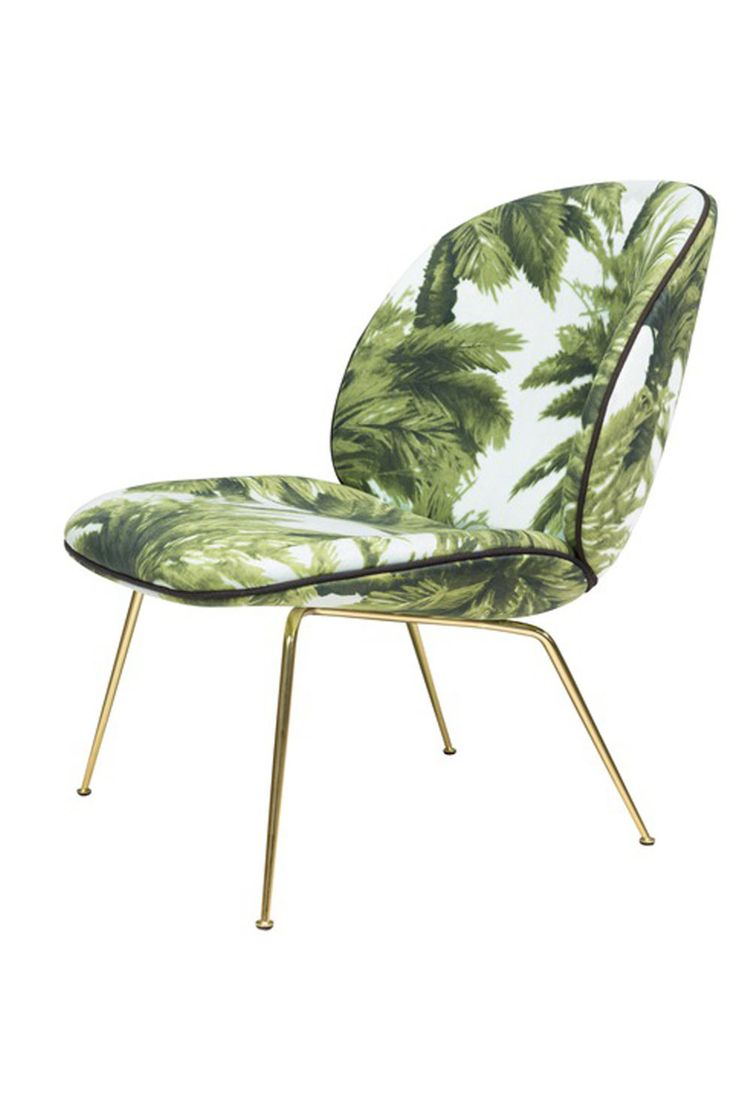 Gubi Beetle lounge chair; $2,299, suiteny.com.
