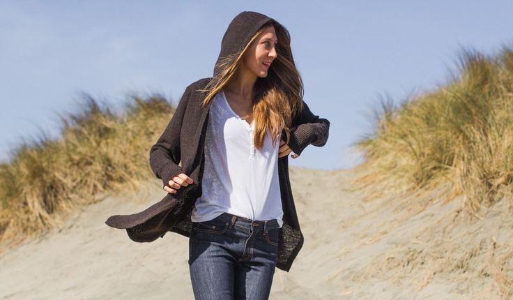 Black Sheep Wrap Sweater   Women's Wool Sweater   Betabrand