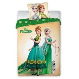 Pościel dla dzieci - Frozen 1 - Bawełna 160x200+70x80