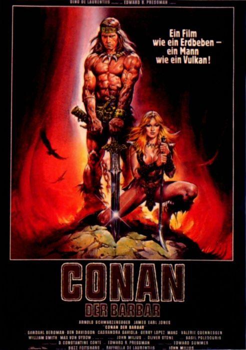 Poster zum Film: Conan, der Barbar