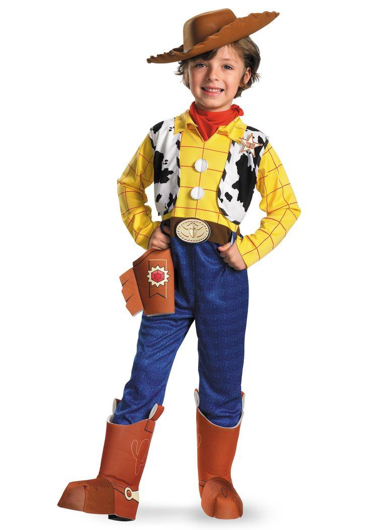 child deluxe woody costume - Halloween Costumes For Preschoolers