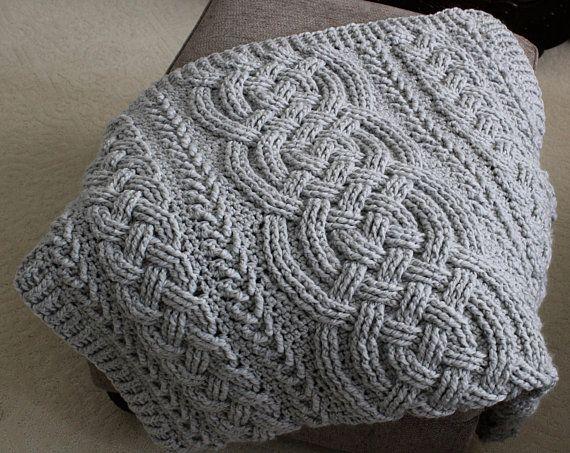Crochet Blanket Pattern Irish Lullaby Cable Braided