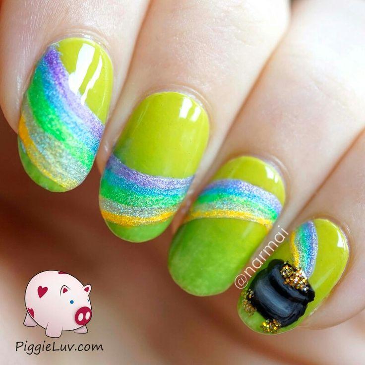 Mejores 37 imágenes de Nail Art en Pinterest | Uñas bonitas, Colores ...