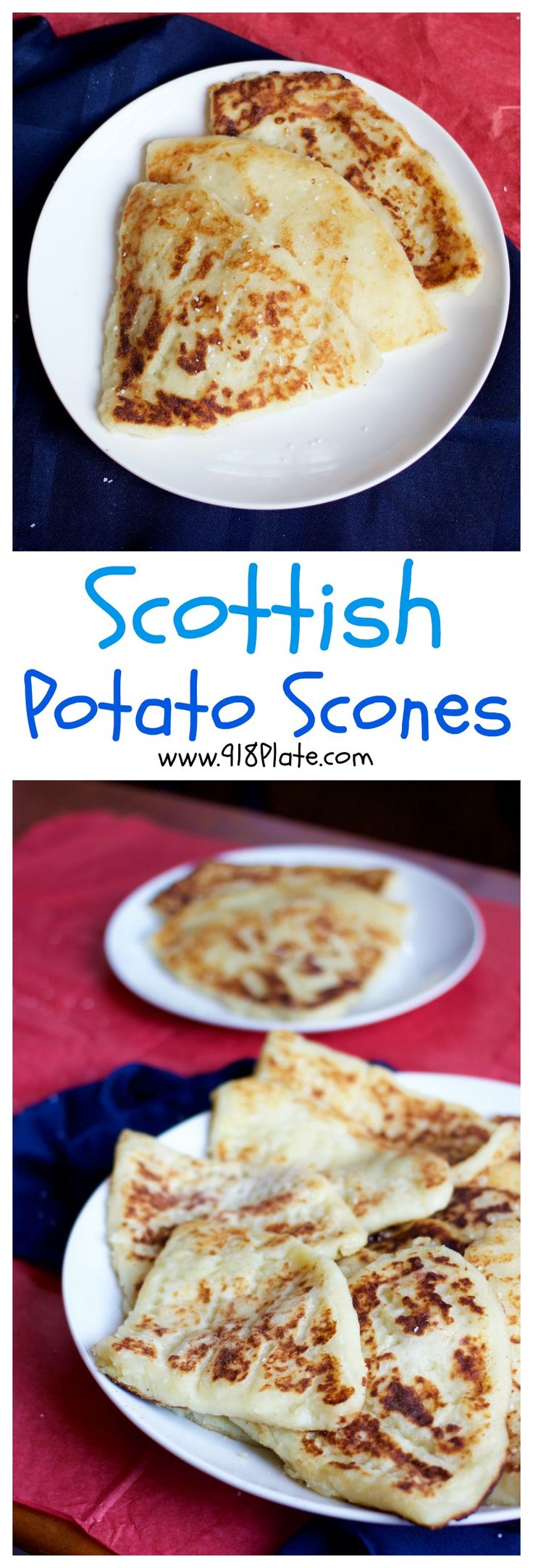 Tattie Scones are the pinnacle of the Scottish breakfast that set it apart from the rest! #breakfast #brunch