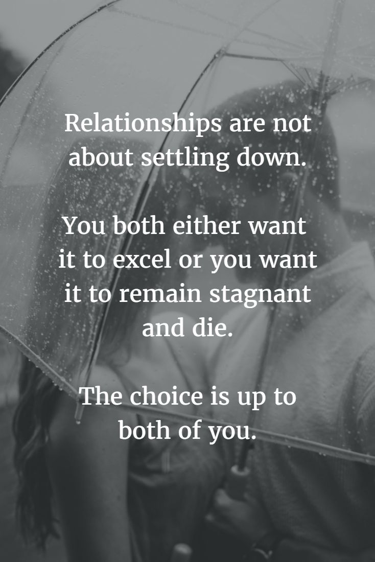 complacent relationship