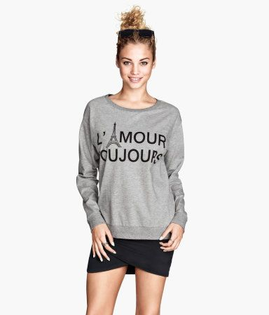 H&M Sweatshirt with a print 9,95 €