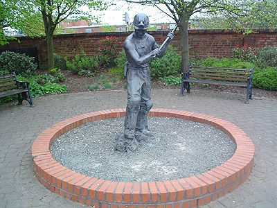 Miner Statue of Coalville Leicester