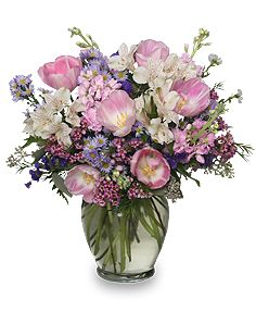 Spring Flower Arrangements | FRAGRANT MEMORIES Arrangement | Spring Flowers | Flower Shop Network