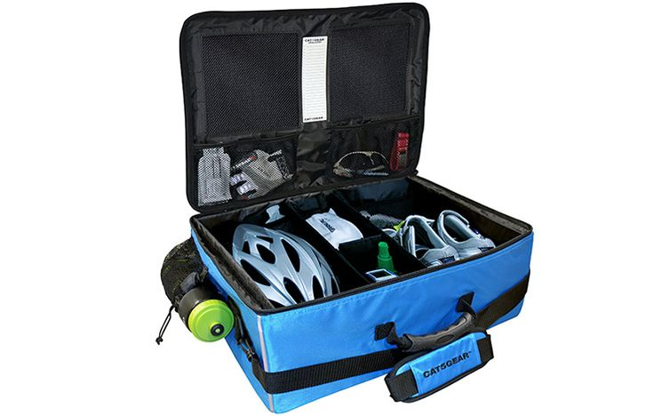 CAT5GEAR Cyclist Case http://www.bicycling.com/bikes-gear/tips/get-ready-faster-with-this-time-cutting-cycling-gear/slide/1