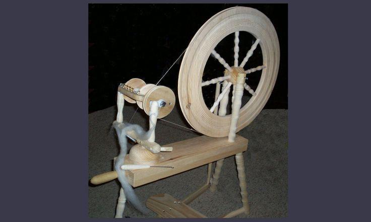 This is the Watt Heritage™ Spinning Wheel
