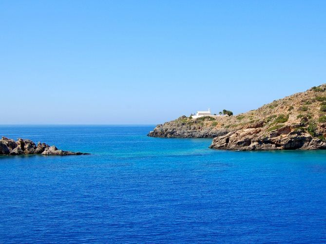 Loutro, on the south coast of Chania, Crete. https://www.facebook.com/SentidoPearlBeach/photos/pb.183158851731783.-2207520000.1446482832./876947169019611/?type=3