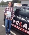 Congratulations to Laura Spooner of Rochester Kent who passed her practical driving test 1st time on Monday 27th July with our driving instructor Tim Hunt. Laura Passed her driving test at the Gillingham Driving test centre. Now getting to Work and and back with out getting cold and wet on her scooter will be so much easier. Well done Laura this should make a massive difference to you and will give you that all important independence. All the best for the future from your driving instructor…
