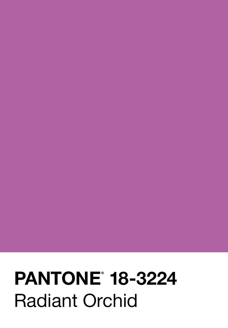 """""""Radiant Orchid blooms with confidence and magical warmth that intrigues the eye and sparks the imagination. It is an expressive, creative and embracing purple—one that draws you in with its beguiling charm. A captivating harmony of fuchsia, purple and pink undertones, Radiant Orchid emanates great joy, love and health"""" —PANTONE   Radiant Orchid: 2014 Pantone Color of the Year"""