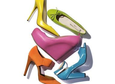 Quest'estate scegli scarpe coloratissime