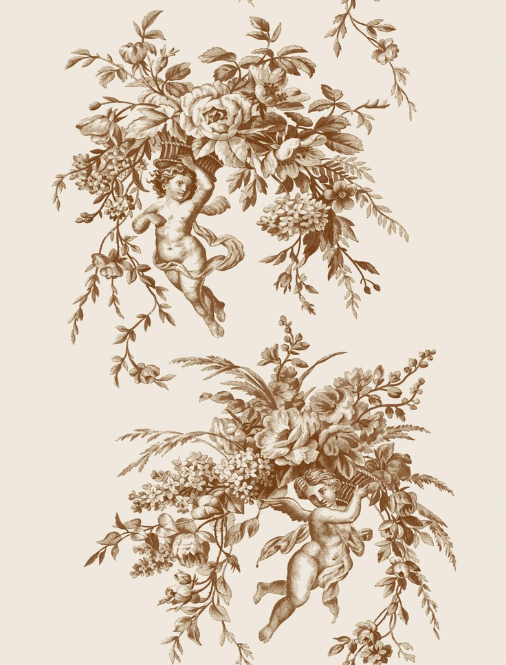 17 best images about toile de jouy on pinterest french fabric fabrics and - Rideaux toile de jouy ...