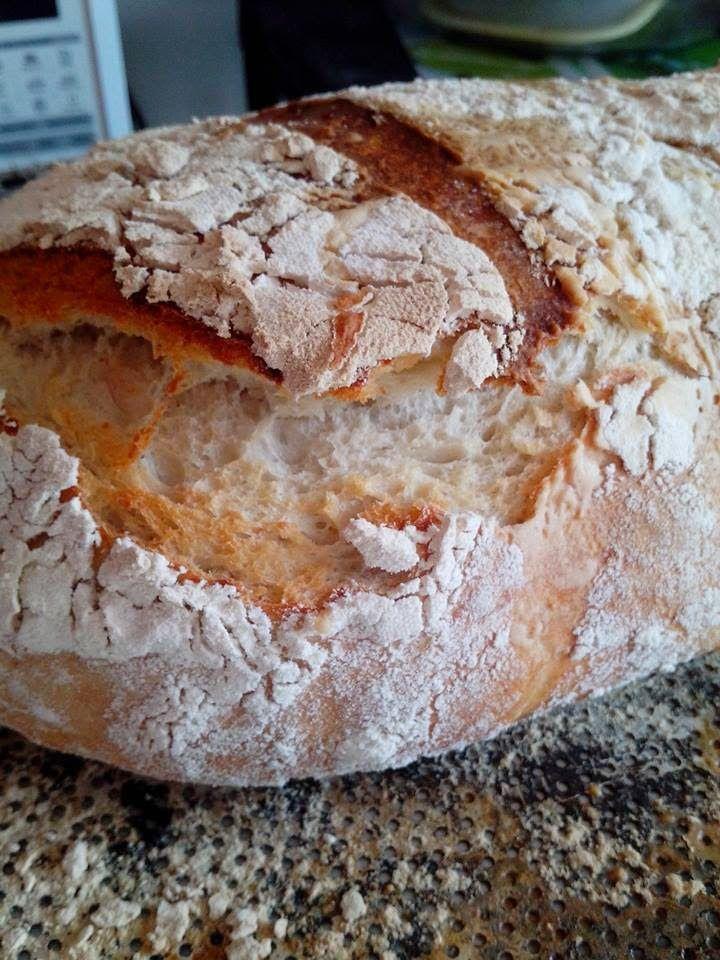 Joana Pães: Pão rustico com fermentação lenta: