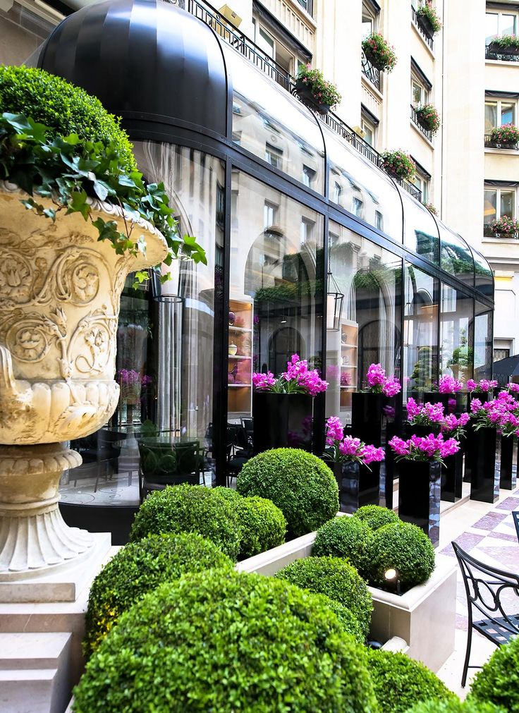"stylishbeauty: "" L'Orangerie George V Paris """