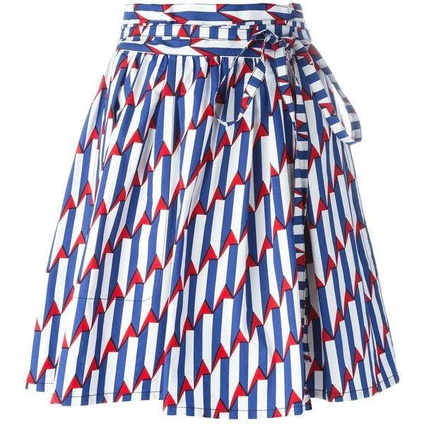 awesome Marc Jacobs 'Arrow Head' wrap skirt
