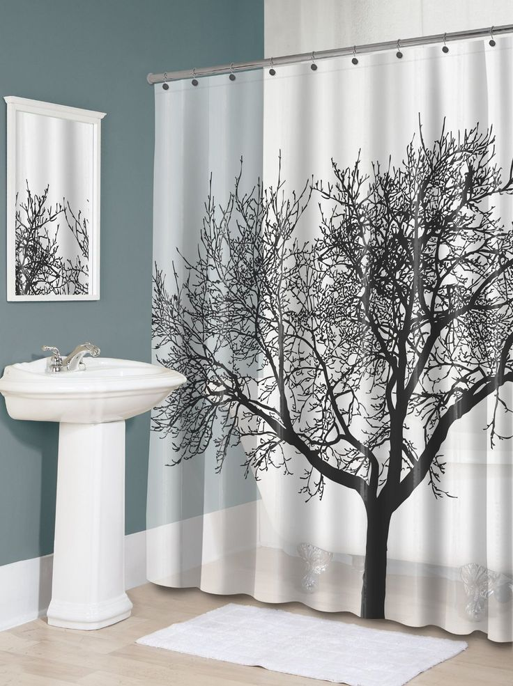 waterproof fabric shower curtain tree design u2013 25 main street