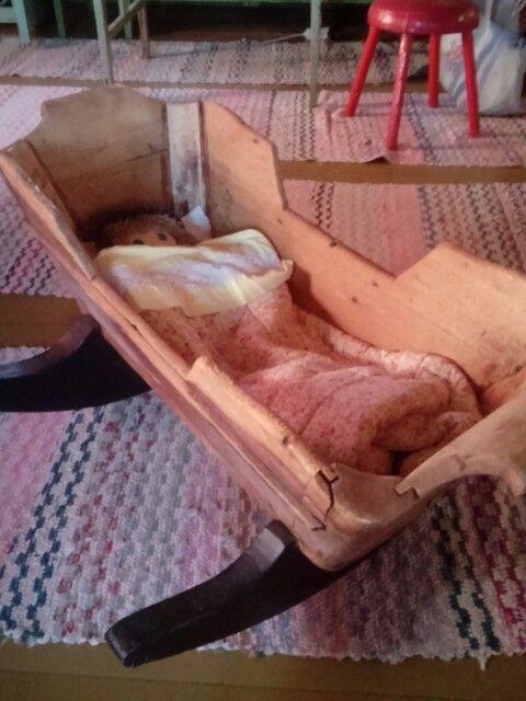 Grandma's craddle.