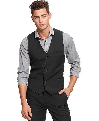 Volcom Vest, Dapper Stone Vest - Mens Suits & Suit Separates - Macy's