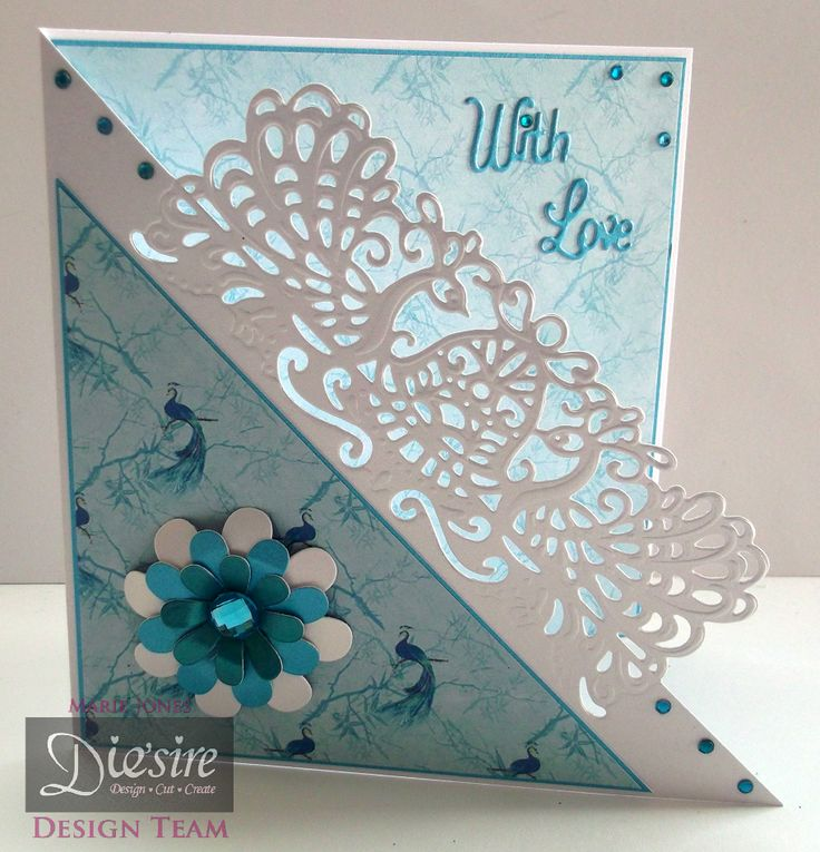 Marie Jones - Die'sire Edge'ables Marseille - Kimono CD - Die'sire Essentials Flowers for All Occasions - Centura Pearl Hint of Gold - Turquoise card - Collall All Purpose glue – Gems - #crafterscompanion
