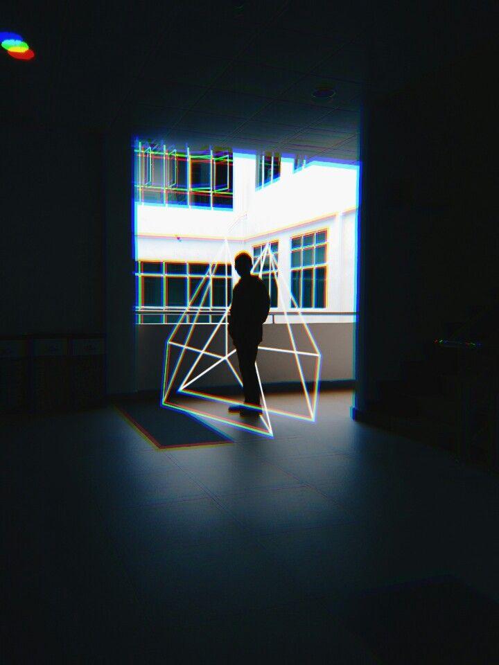 Geometry Shape Photo Editor + Polarr . . #polarr #photography #mobilephotography #geometry #glitch #photoediting